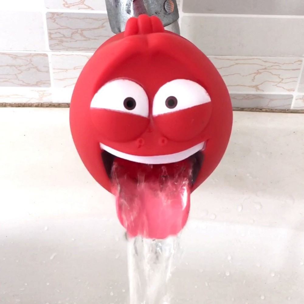 Cute Animal Sink Tap Toddler Extender Wash For Kids Children Water Tap Faucet Extension For Hand Washing Bathroom Kitchen Tools