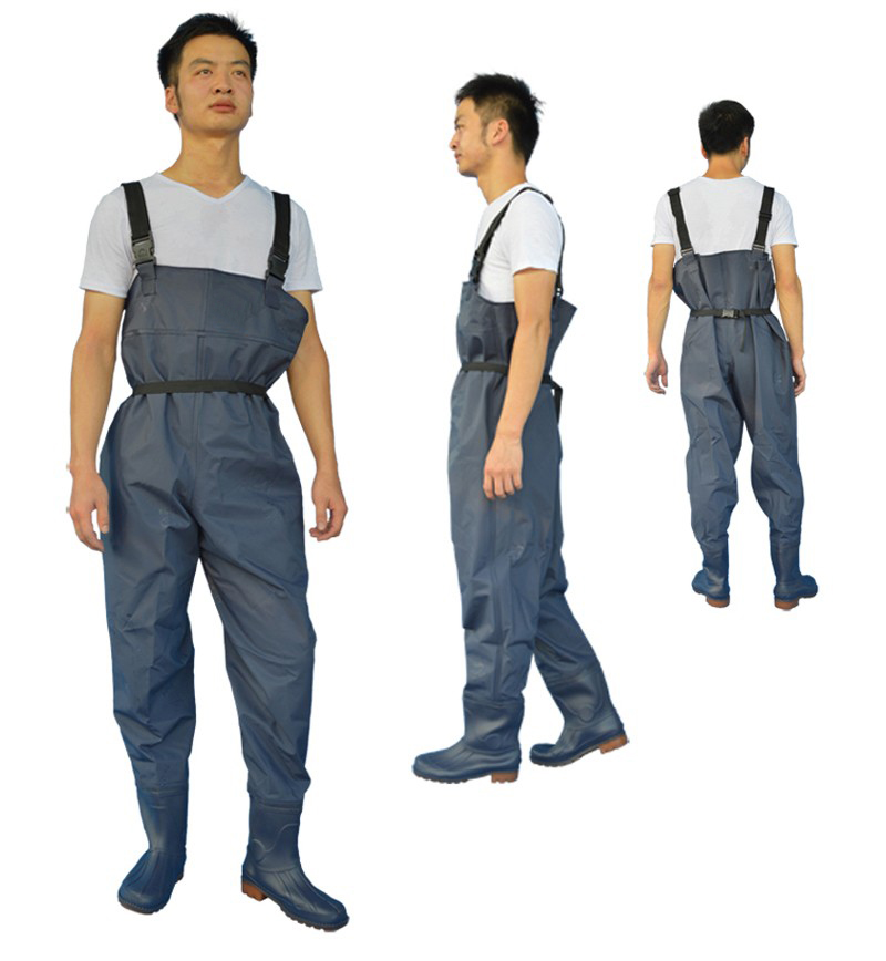 Ultra light leather Fishing Wader Additional Durability Breathable chest waders Fishing boots Waders respirant overalls FO165 ada instruments phantom 2d