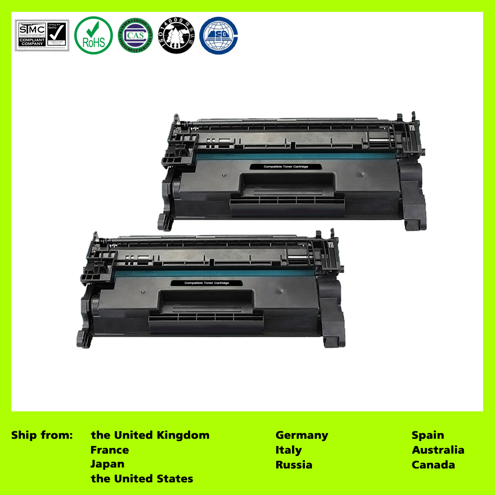 26A CF226A Compatible Toner Ink Cartridge Replacement HP 26A 2 Pack