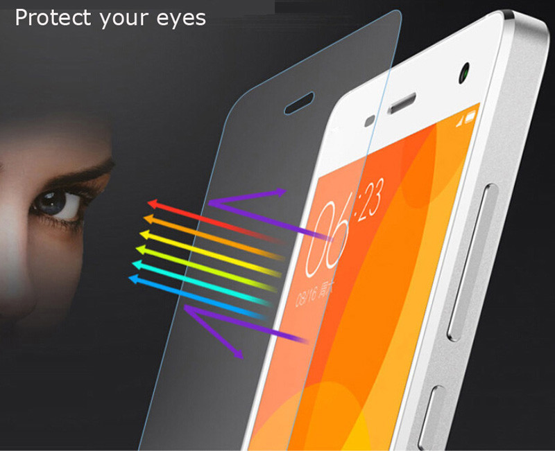 Free shipping tempered film screen protector For Lenovo Vibe A2010 Screen Protector Anti Shatter Glass