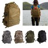 Outdoor Camping Hiking Bag Military Tactical Backpack 5 Color 3D High Quality 600D Military Nylon Bag