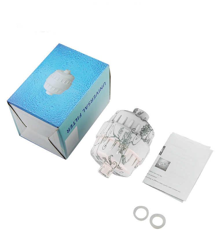 Фильтр для душа для ванной/энергетический фильтр для душа/головка фильтра для ванны/душевая головка с комбинированным углеродом и KDF55 сменные фильтры QY-SF13