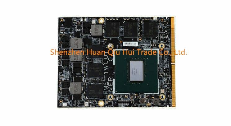 Livraison DHL N17E-G1-A1 Vidéo Carte Pour MSI NVIDIA Geforce MS-16F4 16F3 GT60 GT70 GT72 GT72S 1763 1762