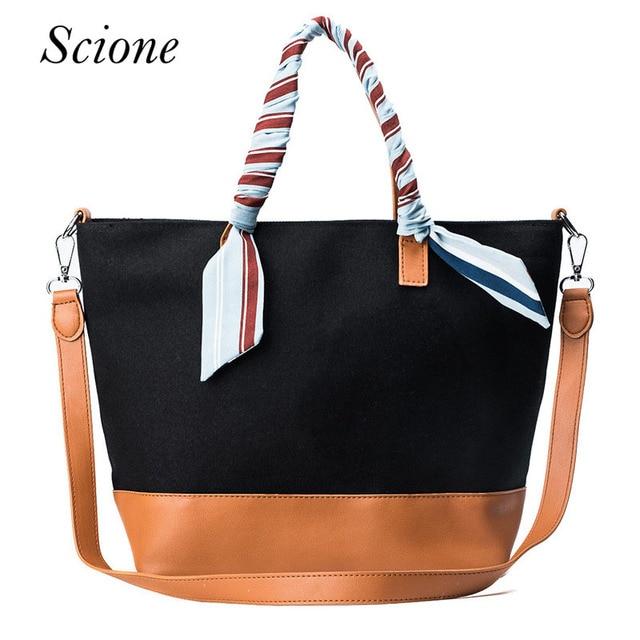 7095ef3f5d Douguyan Canvas Briefcase Canvas Leather Vertical Messenger Bag for Men  Women Large Tablet Bag Mens Shoulder