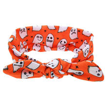 Pudcoco New 1Pcs Kid Baby Halloween Headwear Baby Girls Toddler Turban Cute Headband Hair Band Children Halloween Party Headwear(China)