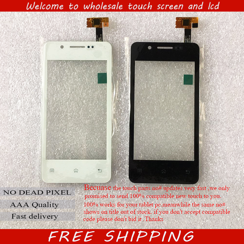 New For 4 Keneksi Wind touch screen Touch panel Digitizer Glass Sensor Replacement Free Shipping keneksi q4 black