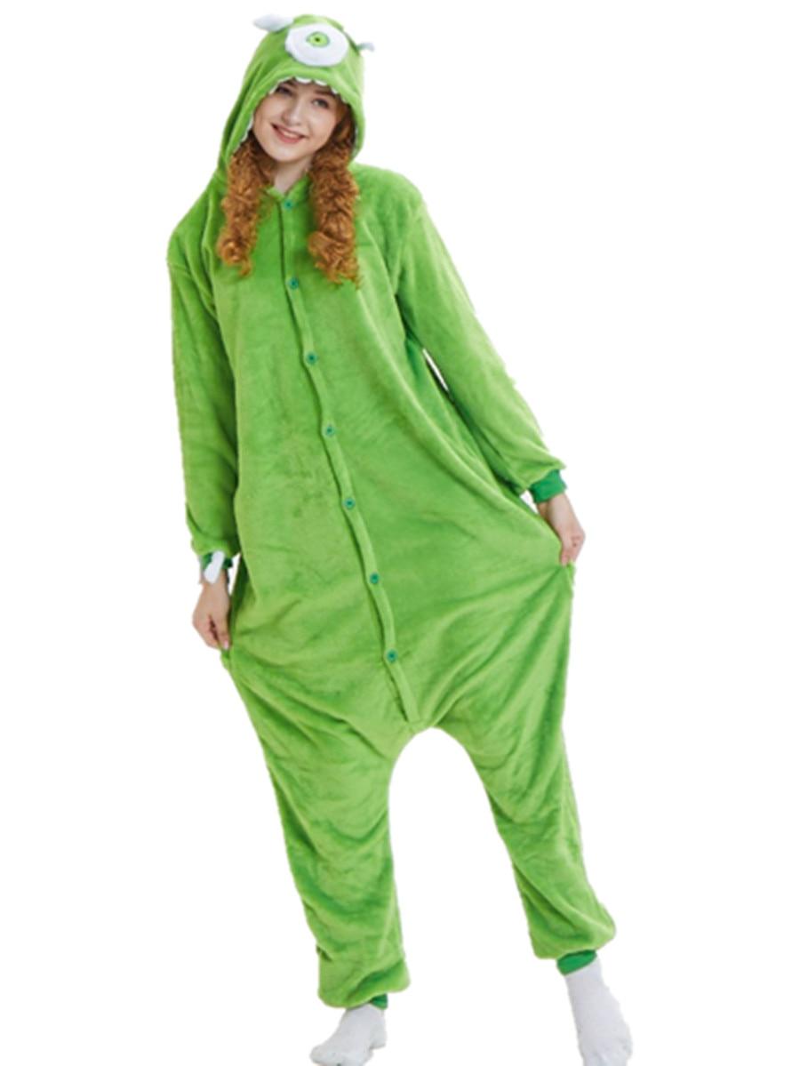 unisex funny winter unicorn animal kigurumi onesie pajamas adults 2018 free shipping