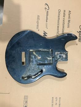 DIY gitara elektryczna DIY gitara elektryczna korpus Afanti music (ADK-603) tanie i dobre opinie Blokowany klucz Unisex Nauka w domu Beginner Do profesjonalnych wykonań LIPA Electric guitar Body none