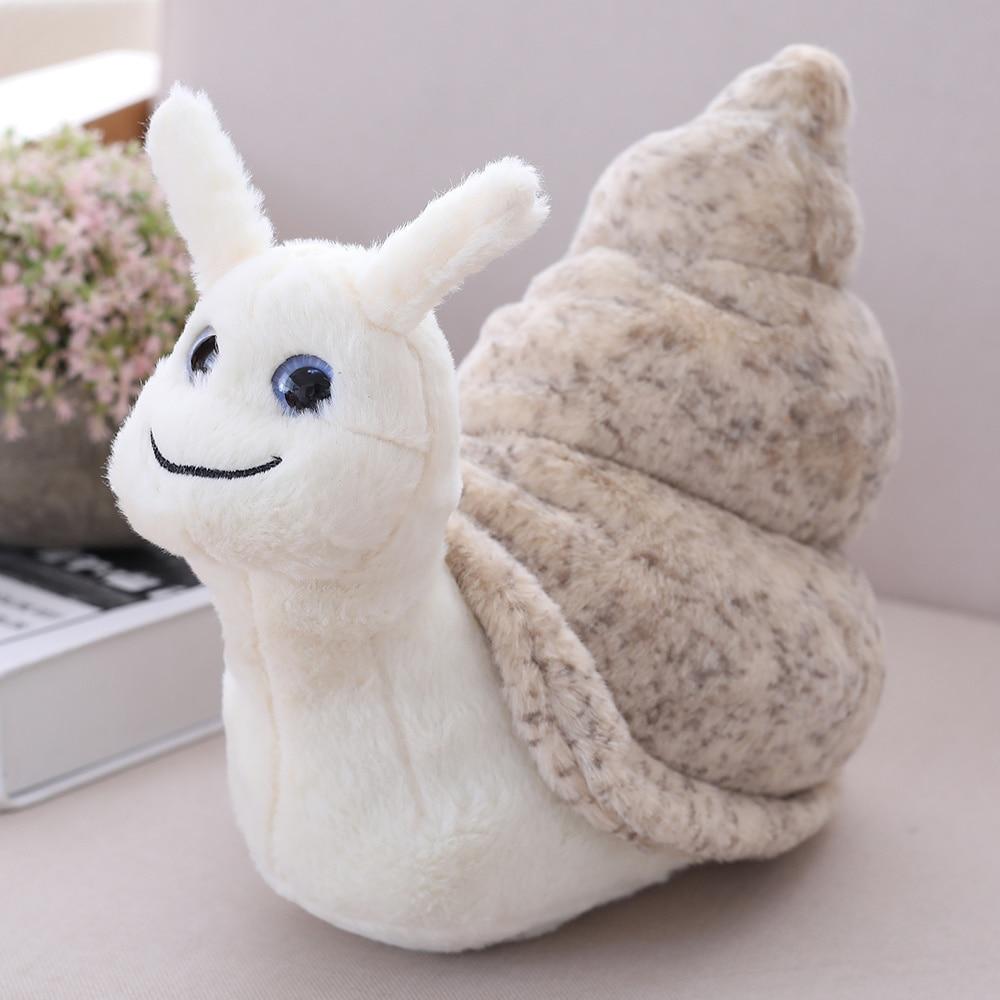 Cute Sea Snail Plush Toy Stuffed Doll Cartoon Animal Conch Birthday Gift Christmas Present