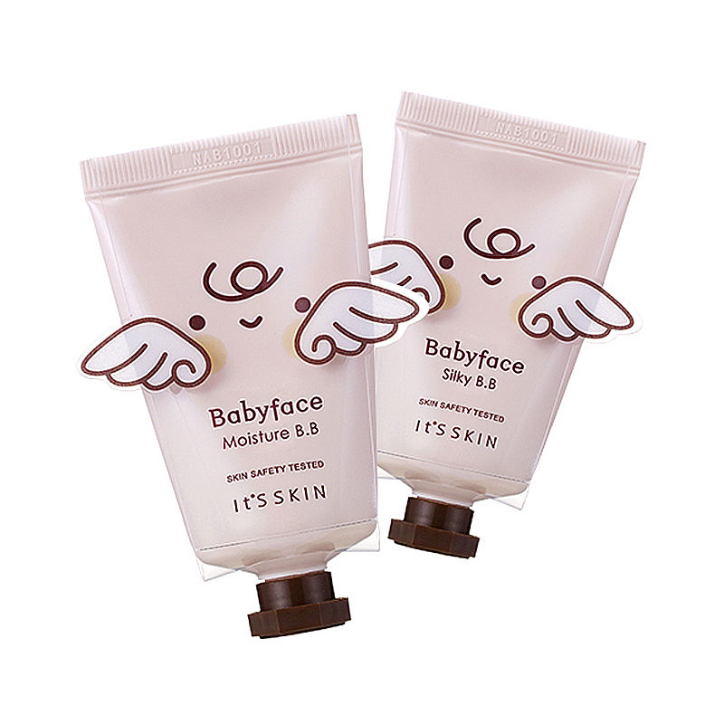 Original Korea Cosmetic IT'S SKIN BabyFace BB SPF30/PA++ 2 Type Makeup BB Cream Moisturize Sunscreen Concealer 1pcs holika holika bouncing petit bb cream spf30 pa 30ml korea cosmetic