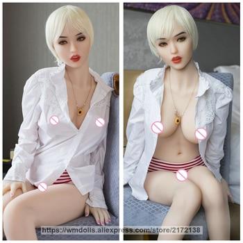 WMDOLL 165cm Realistic Silicone Sex Dolls Lifelike Sex Robot Dolls Sexy Male Masturbate Adult Toys Love Doll