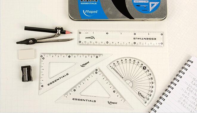 Maped Pencil Compasses Drawing Clip Many Kinds of Pen Compasses Drafting  Tools School Set