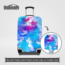 Dispalang Travel On Road Women Thick Elastic Luggage Protective Cover For 18 20 22 24 26