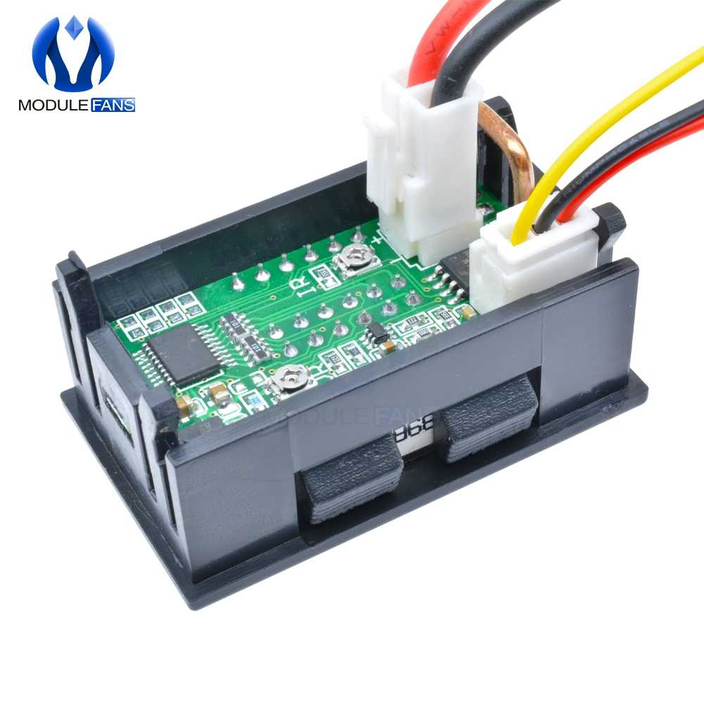 Dc Voltmeter Ammeter Wiring Diagram on