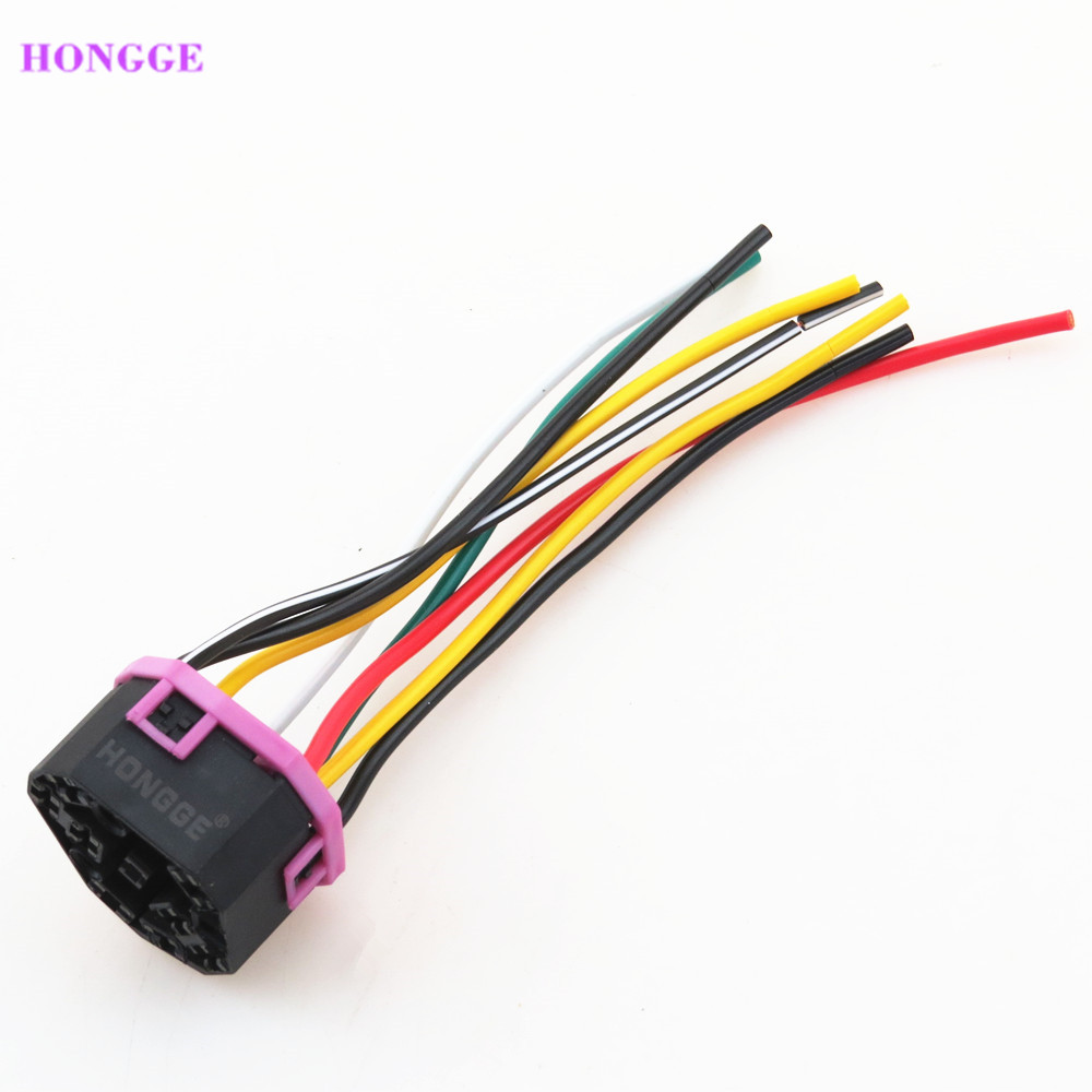 hongge ignition switch wiring plug pigtail for vw jetta golf mk4 car ignition switch wiring hongge [ 1000 x 1000 Pixel ]