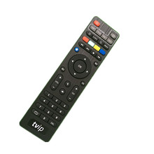 Original Hot Sale TVIP Remote Control For Tvip410 Tvip412 Tvip415 TvipS300 Black Color tvip Remote Controller without BT