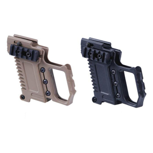 Image 3 - Tactical Airsoft GLOCK Magazine Holder Multi function Fits For CS G17 G18 G19  Pistol Carbine Kit Hunting Accessory