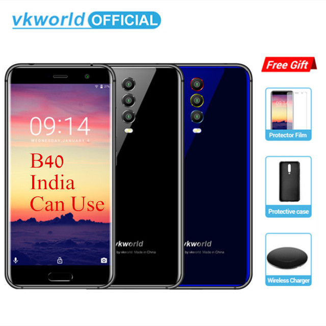 """VKWORLD K1 5.2"""" In-Cell MTK6750T Octa Rear Three Camera Smartphone Core Android 8.1 4040mAh Fast Charge 5V/3A 4GB RAM 64GB ROM"""