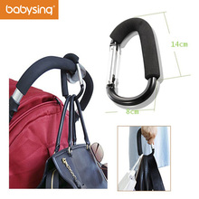 Baby Stroller Hook Organizer Slip-Resistant Hanging Shopping Bag Carrier Holder For Baby Stroller
