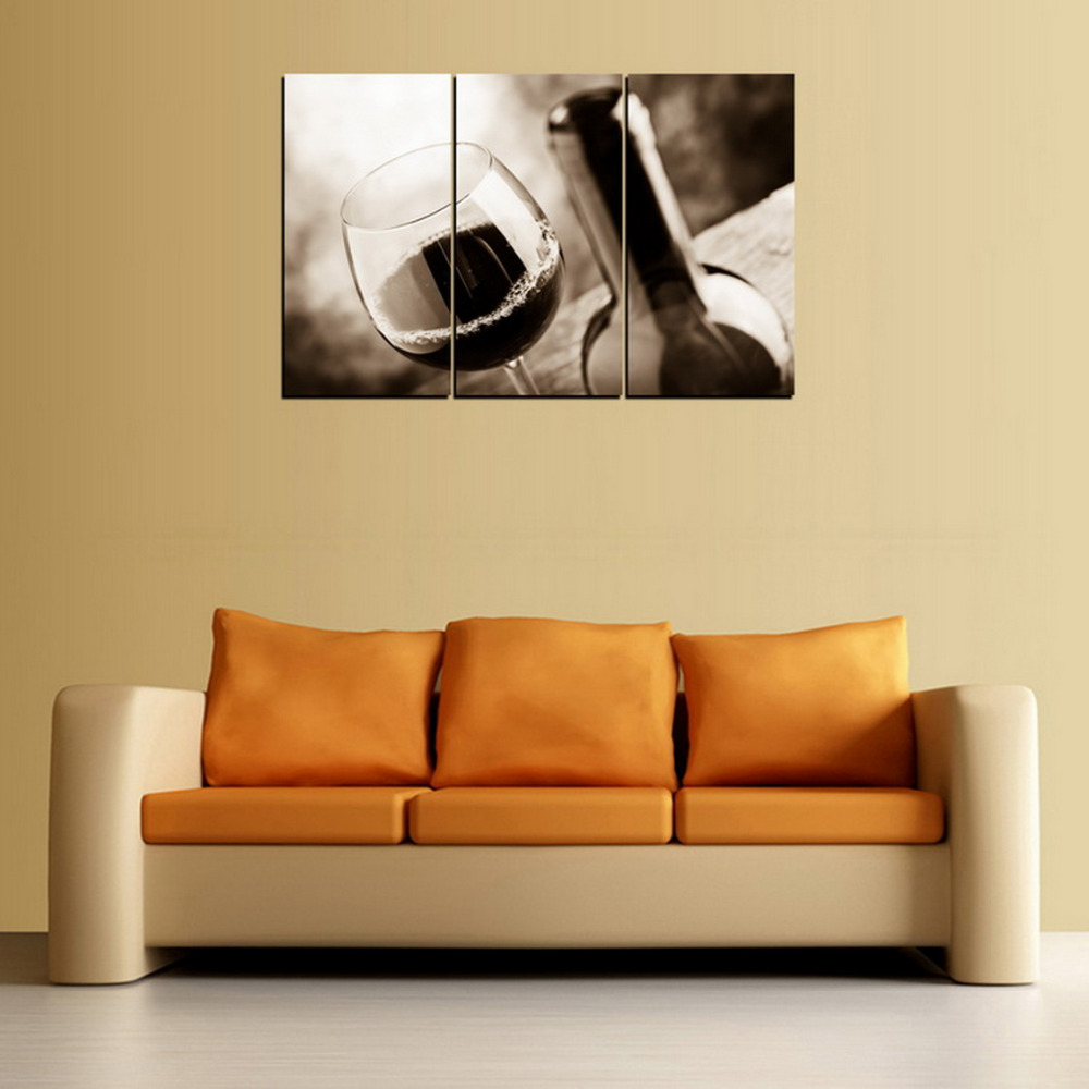 Contemporary 3 Piece Black And White Wall Art Pictures - All About ...