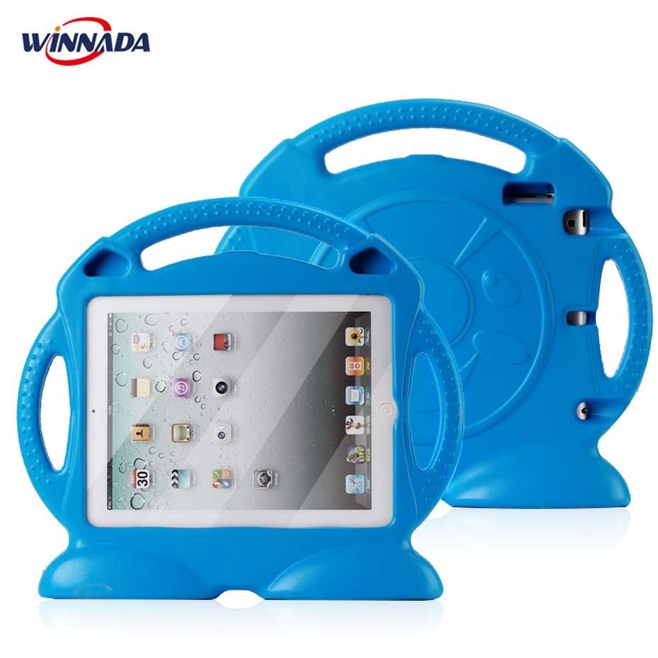 Korpus iPadile 2 3 4 Mürgine EVA käepide Stand Shock Proof EVA kogu - Tahvelarvutite tarvikud - Foto 3