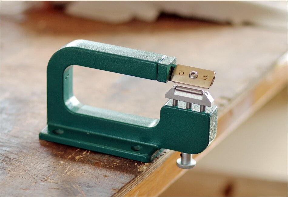 Aluminum Manual Leather Skiver Leather Paring Machine Leather ...
