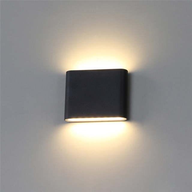 Us 7 17 56 Off Modern Waterproof Led Wall Lamp Ip65 Light Outdoor Garden Lamps Outside Lighting Parking Step Corridor Buitenlamp In