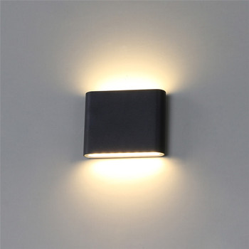 Nowoczesna wodoodporna LED kinkiet przemysłowe IP65 LED światła na zewnątrz ogród u nas państwo lampy oświetlenie zewnętrzne Parking krok korytarz Buitenlamp