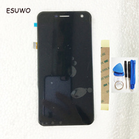 ESUWO LCD Display Screen Touch Screen For Wileyfox Spark LCD Screen With Touch Screen Assembly 3M