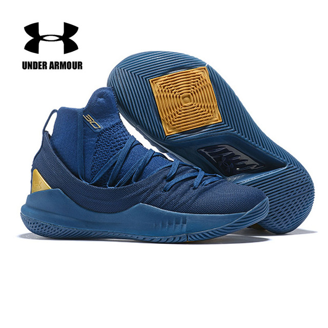 3c2157c6c989 ... new zealand under armour mens curry 5 basketball sneakers high top  exercise gym cushioning shoes zapatillas