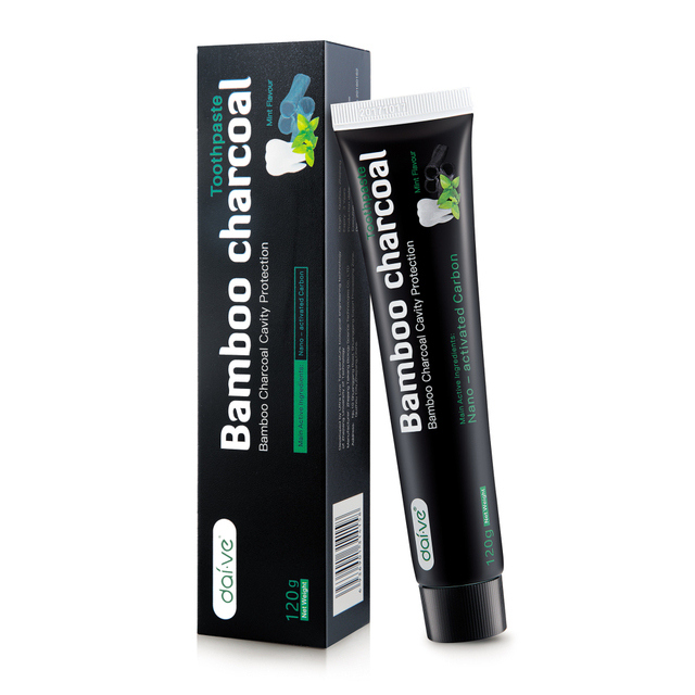 Bamboo Charcoal Teeth Whitening Toothpaste – Oral Dental FDA & CE Certification