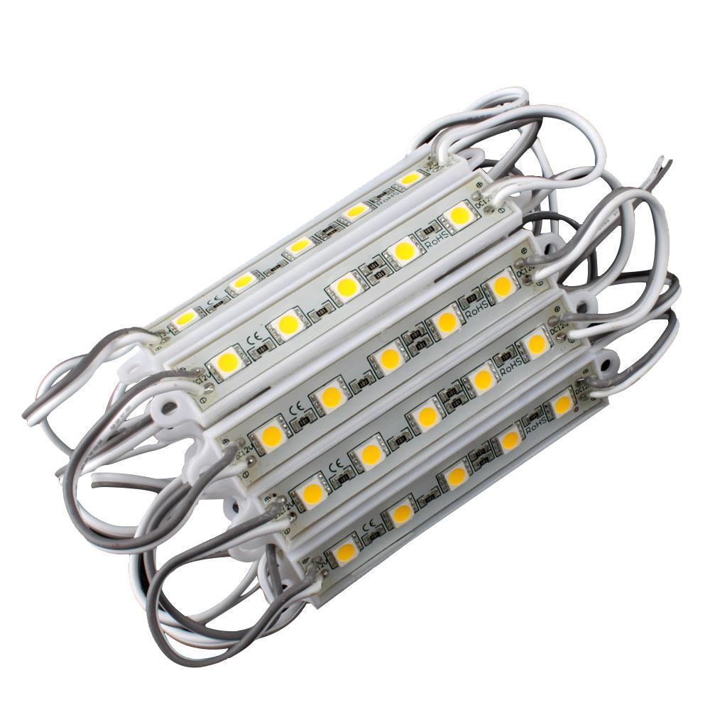 Pcs Smd Led Bar Light 12 Volt Led Strip Lights Simple: 5 SMD 5050 LED Module Light Waterproof Hard Strip Bar