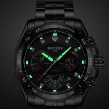 BOYZHE Brand Men Watch Automatic Calenar Fashione Luxury Mechanical Watches Luminous Clock Male Reloj Hombre Relogio Masculino