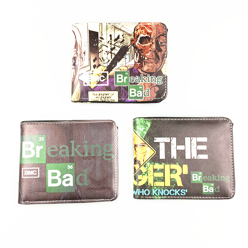 Men Wallets Breaking Bad Purse Harry Potter Purses Sherlock Wallet Baellerry Pouch Young ...
