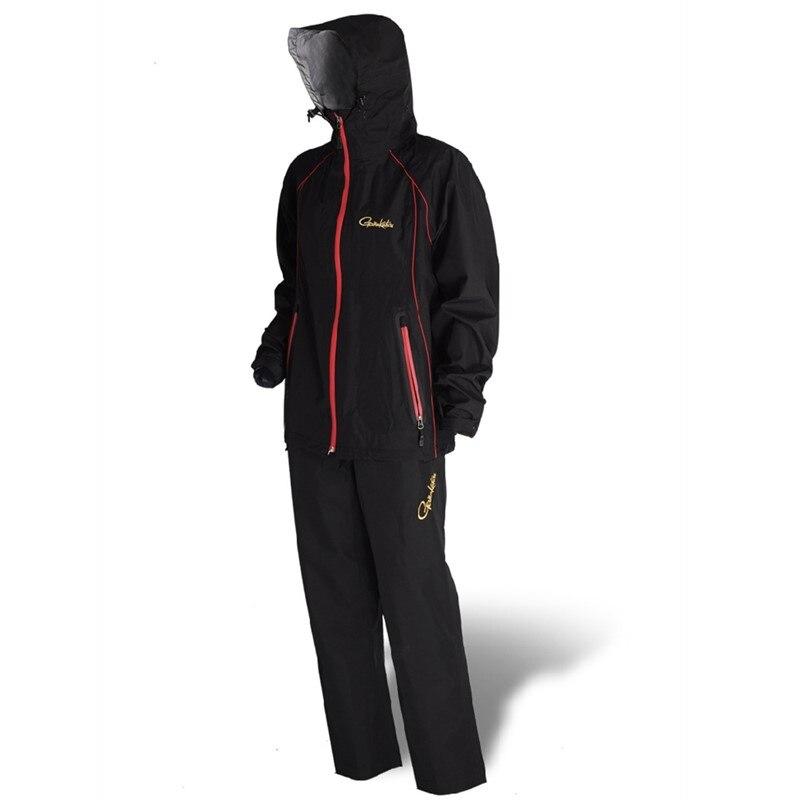Новинка 2017 года Gamakatsu Рыбалка Куртка парка костюм непромокаемые дышащие ветрозащитный GM-3396 утепленная одежда осень и зим