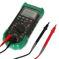 LCD Digital Multimeter MASTECH MS8268 Auto Range Full Protection AC DC Ammeter Voltmeter NCV Electrical Tester