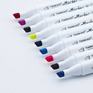 Image 4 - Art marqueur ensemble huileux à base dalcool croquis marqueurs pinceau stylo pour 30/40/60/80/168 couleurs artiste dessin Manga Animation Art fournitures