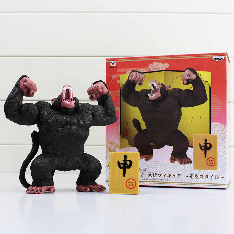 Anime Figura de Ação Preto Monkey King Goku Dragon Ball Z Figuras Moda Cool Boy Figura de Ação DO PVC