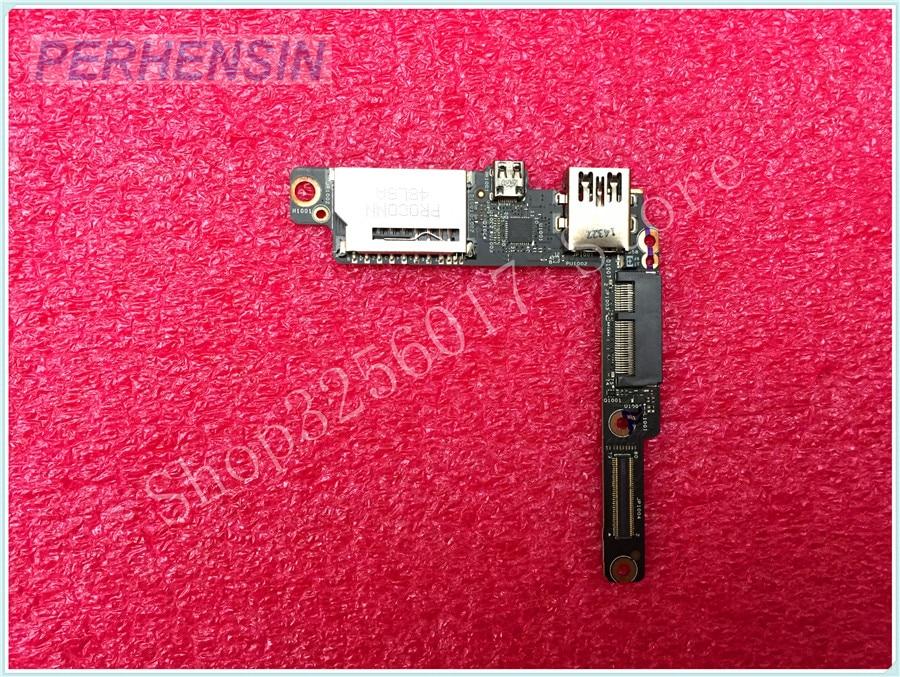 Genuine FOR LENOVO FOR YOGA 3 PRO 1370 USB HDMI HDD SD READER BOARD AIUU2 NS-A321 original laptop a1398 i o usb hdmi sd card reader board for macbook pro retina 15 a1398 usb board 2012 2013 2014 2015 year