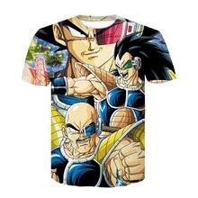 Newest Anime Dragon Ball Z Goku 3d t shirts Fashion Summer Men/Boy Super Saiyan Tee Tops Clothes