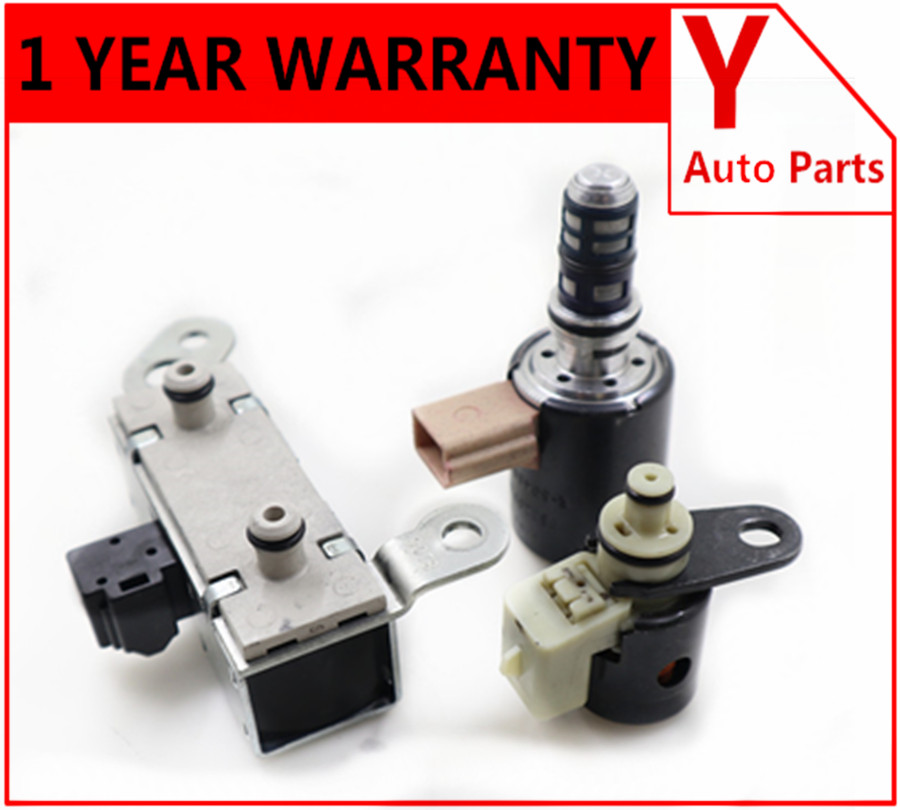 3PCS Of Set Shift EPC TCC Automatic Transmission Solenoid 4R70W 4R75W For FORD 2005 2008