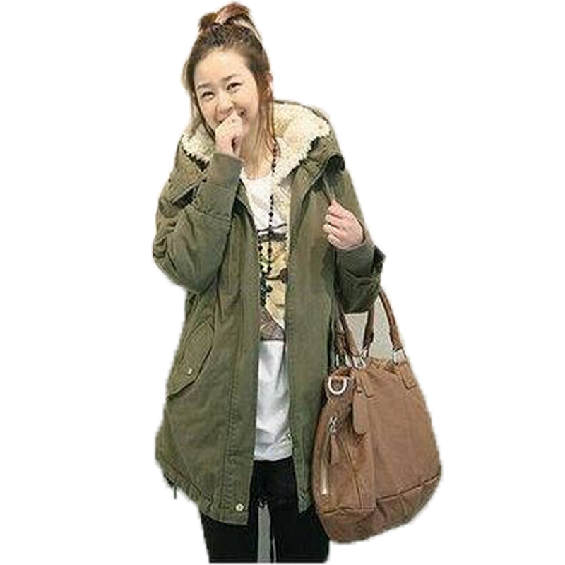 Women's Winter Coats Plus Size Cotton Padded Coat Parkas For Women Thick Hooded Medium-Long Padded Jacket Female Overcoat 2017 winter women coat warm down cotton padded jacket thick hooded outwear plus size parkas female loose medium long coats