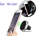 Universal suporte celular Car Holder Car Stand Mini Air Vent Mount Magnet Magnetic Phone Mobile Holder For iPhone 7 Plus Samsung