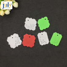 Julyarts Square Scrapbooking Dies Metal for DIY Carbon Steel Material Craft Creative Stamps Paper Card