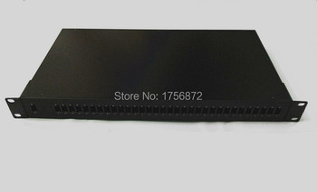 1x32 19 inch rack mount plc splitter 1U SC Port