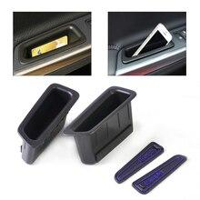 Beler 2 шт. Черная передняя дверь контейнер подлокотник ящик для хранения с резиновыми накладками для Volvo XC60 2008 2009 2010 2011 2012 2013 2014 2015