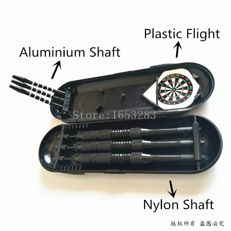 Long Style Body/Barrel Steel Tip Dart Nickel Plating Material Body Darts set 2BA Thread with box