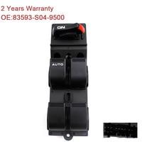 YAOPEI 83593 S04 9500 Power Window Switch Fit For Honda Civic CX EX HX LX Si 4 Door 96 2000