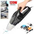 Portable 12V 120W Vehicle Handheld Car Vacuum Cleaner Wet And Dry Dual Use Cigarette Lighter Dirt Cleaner Multiple Colour