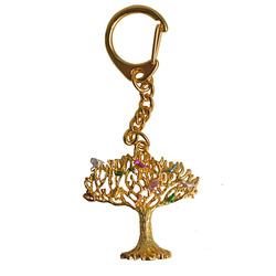 Hot Selling Fengshui 10 Birds on Wish Fulfilling Tree Keychain W Fengshuisale Red String Bracelet